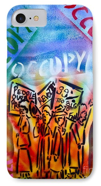 We Occupy Phone Case by Tony B Conscious
