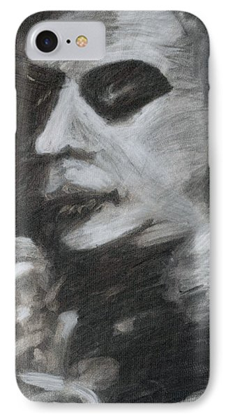 IPhone Case featuring the drawing Weary by Denny Morreale