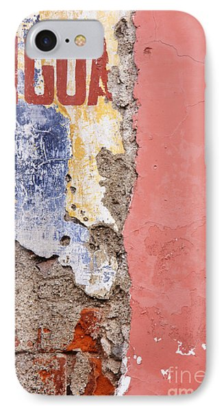 Weathered And Cracked Wall Phone Case by Jeremy Woodhouse