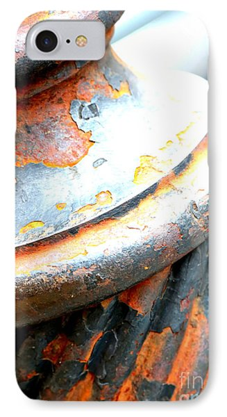 Weathered Column  Phone Case by Carol Groenen