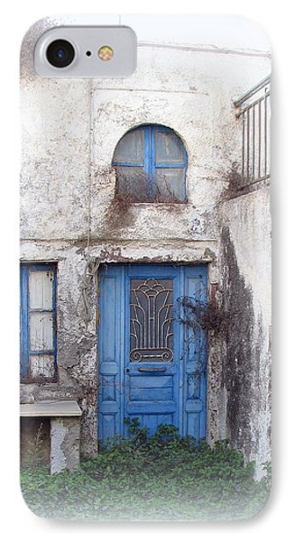 Weathered Greek Building Phone Case by Carla Parris