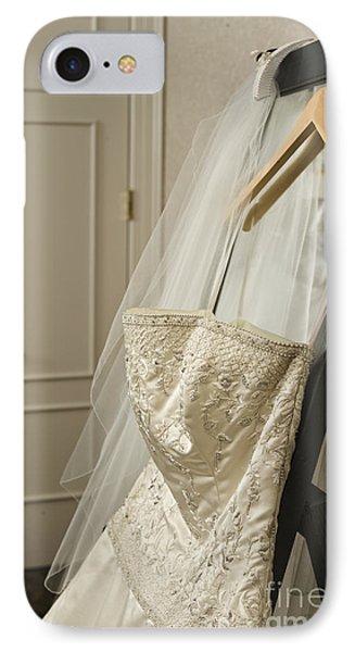 Wedding Dress Phone Case by Ned Frisk