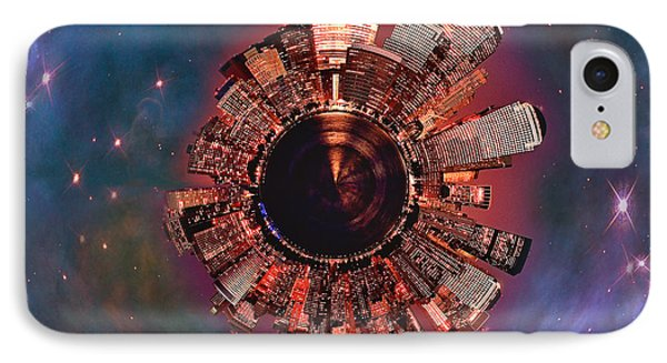 Wee Manhattan Planet IPhone Case by Nikki Marie Smith