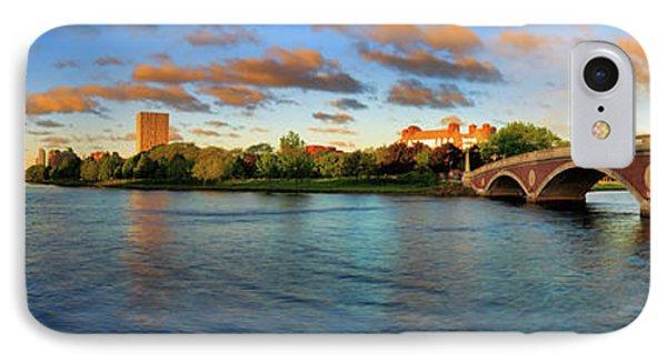 Weeks' Bridge Panorama IPhone Case by Rick Berk