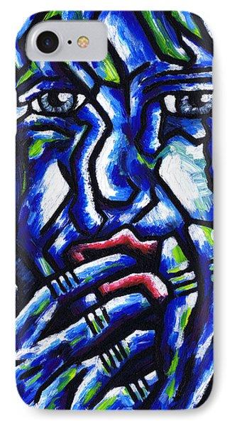 Weeping Child Phone Case by Kamil Swiatek