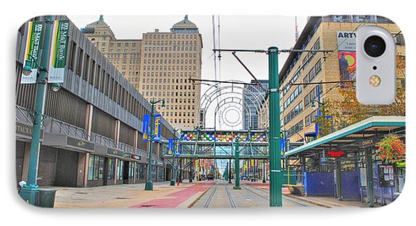 IPhone Case featuring the photograph Welcome To Dt Buffalo by Michael Frank Jr