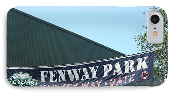 Welcome To Fenway Park Phone Case by Stephen Melcher
