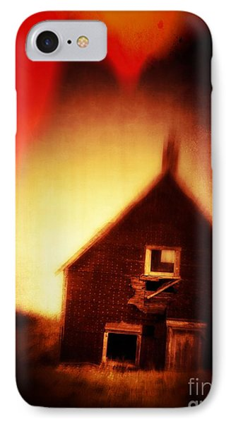 Welcome To Hell House Phone Case by Edward Fielding