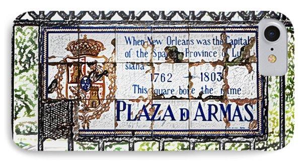 well worn historic plaza de armas tile plaque jackson square new orleans colored pencil digital. Black Bedroom Furniture Sets. Home Design Ideas