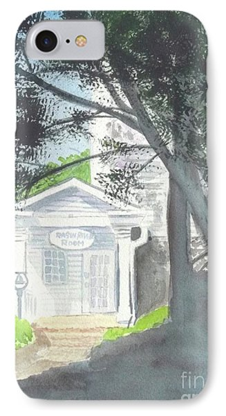 IPhone Case featuring the painting Wellers Carriage House 1 by Yoshiko Mishina