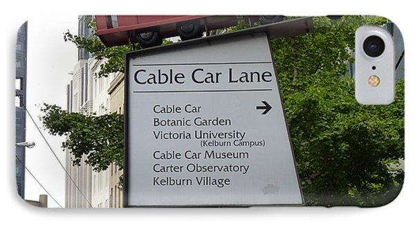 Wellington Cablecar Phone Case by Carla Parris