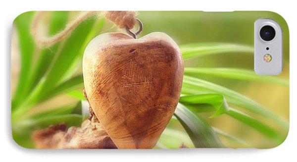 Wellnes Heart Phone Case by Tanja Riedel