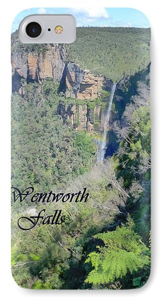 Wentworth Falls Phone Case by Carla Parris