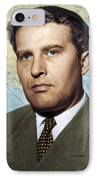 Wernher Von Braun, German Rocket Pioneer Phone Case by Detlev Van Ravenswaay