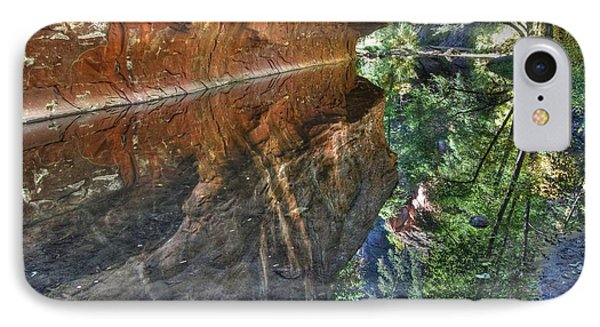 IPhone Case featuring the photograph West Fork Reflection by Tam Ryan