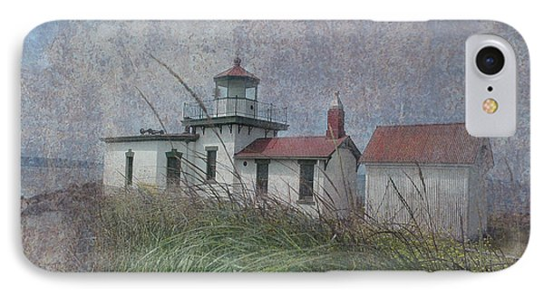 West Point Lighthouse - Seattle IPhone Case