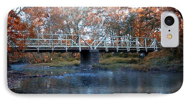 West Valley Green Road Bridge Along The Wissahickon Creek IPhone Case