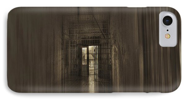 West Virginia Penitentiary Hallway Out Phone Case by Dan Friend