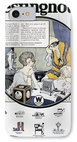 Westinghouse Ad, 1924 Phone Case by Granger