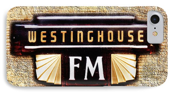 Westinghouse Fm Logo Phone Case by Andee Design