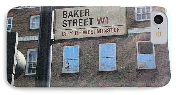 #westminster #bakerstreet #baker IPhone Case by Abdelrahman Alawwad