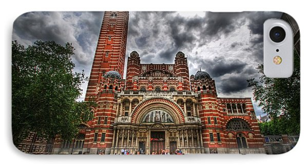 Westminster Cathedral Phone Case by Yhun Suarez