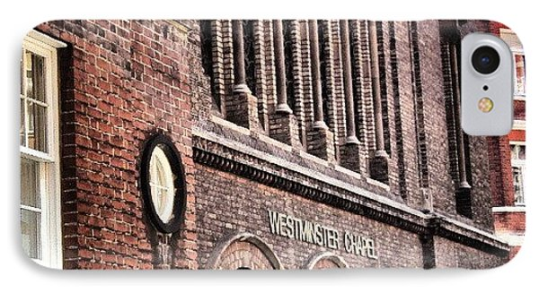 Westminster Chapel, London | IPhone Case