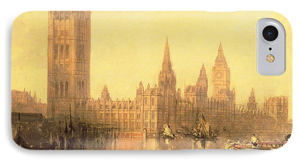 Westminster Houses Of Parliament Phone Case by David Roberts