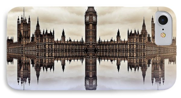 Westminster On Water Phone Case by Sharon Lisa Clarke