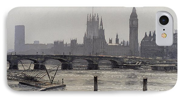 Westminster IPhone Case by Tom Young