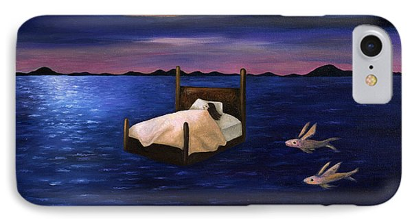 Wet Dreams Phone Case by Leah Saulnier The Painting Maniac