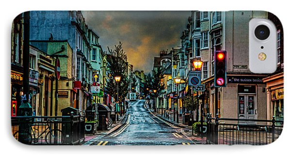 Wet Morning In Kemp Town Phone Case by Chris Lord