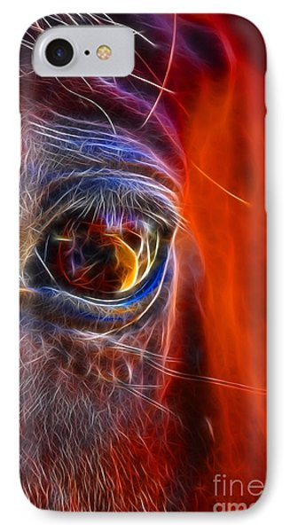 What Are You Looking At Now? Phone Case by Mariola Bitner