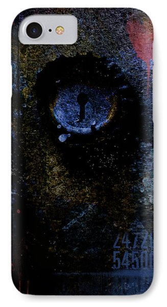 What We See Is Only What We Are Phone Case by Ron Jones