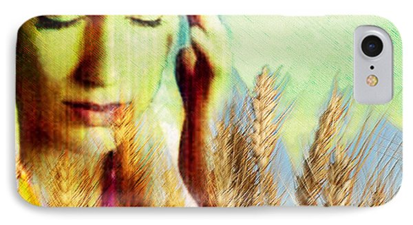 Wheat Allergy IPhone Case by Hannah Gal