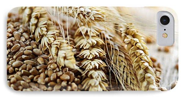 Wheat Ears And Grain Phone Case by Elena Elisseeva