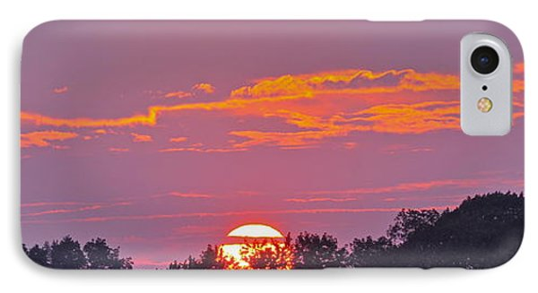 IPhone Case featuring the photograph Wheels Of Fire In Connecticut Sky by Cindy Lee Longhini