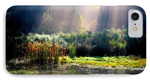 When Morning Hits The Marsh Phone Case by Carol Groenen