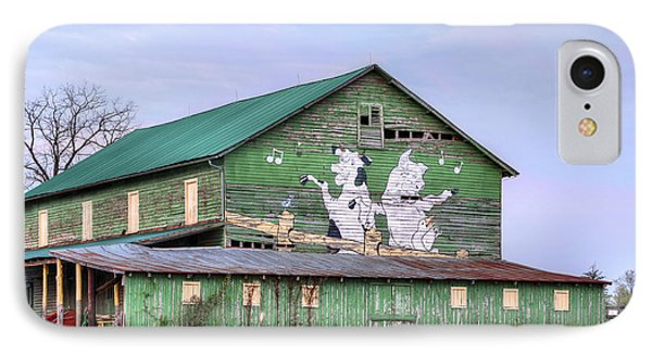 When The Farmer's Away Phone Case by JC Findley