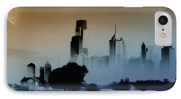 While The City Sleeps Phone Case by Bill Cannon