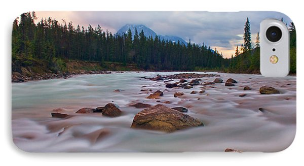 Whirlpool River Phone Case by James Steinberg and Photo Researchers