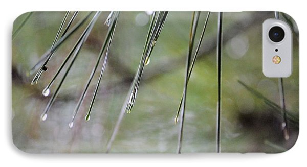 Whispers Of An Autumn Rain Phone Case by Maria Urso