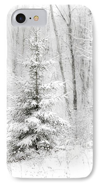 Whispers The Snow IPhone Case by Angie Rea