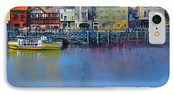 Whitby St Anne's Staith Phone Case by Neil McBride