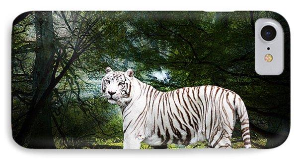 White Bengal Phone Case by Elizabeth Hart