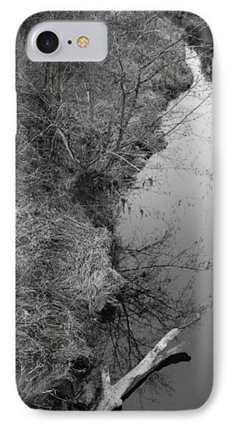 IPhone Case featuring the photograph White Branch Riverside  by Kathleen Grace