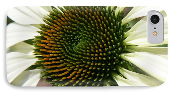 White Coneflower Daisy Phone Case by Donna Corless
