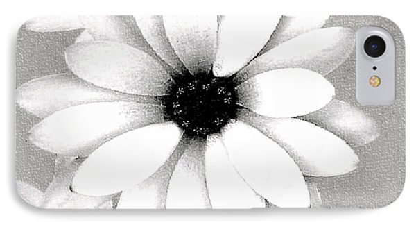 IPhone Case featuring the photograph White Daisy by Tammy Espino
