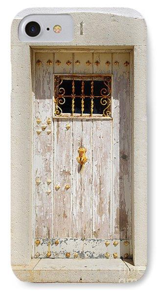White Door IPhone Case by Carlos Caetano