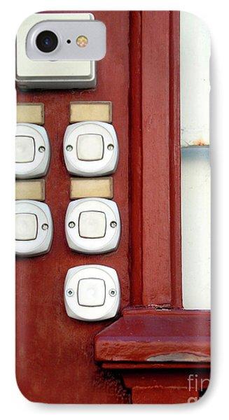 White Doorbells Phone Case by Carlos Caetano
